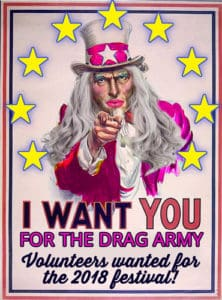 Drag-Army - Sign up, Volunteer and enjoy the festival