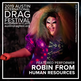 2019 FEATURED PERFORMER ROBIN FROM HUMAN RESOURCES